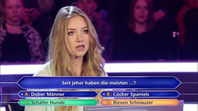 """Tanja Fuß bei """"Wer wird Millionär"""""""