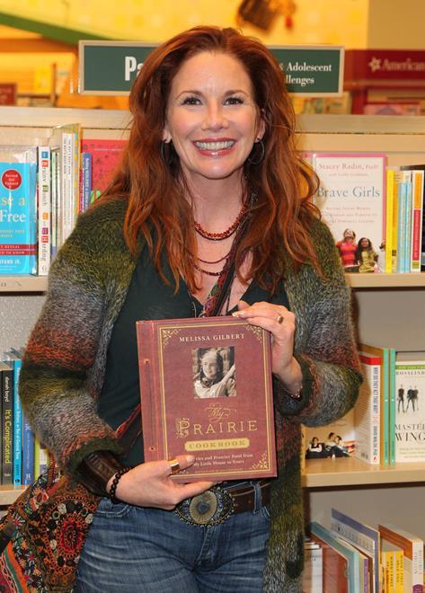 Melissa Gilbert hat auch als Autorin Erfolg und schrieb zuletzt ein Kochbuch.