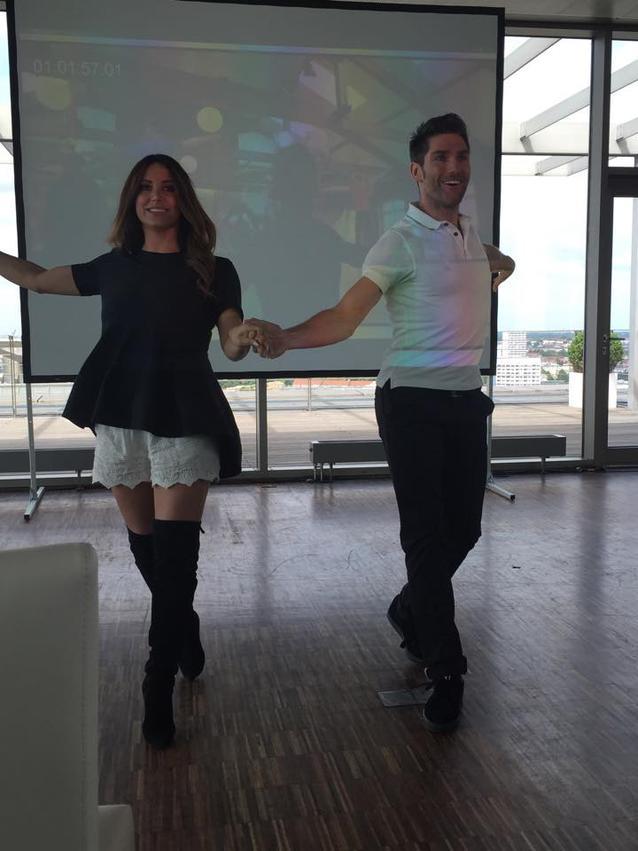 Christian Polanc und Enissa Amani