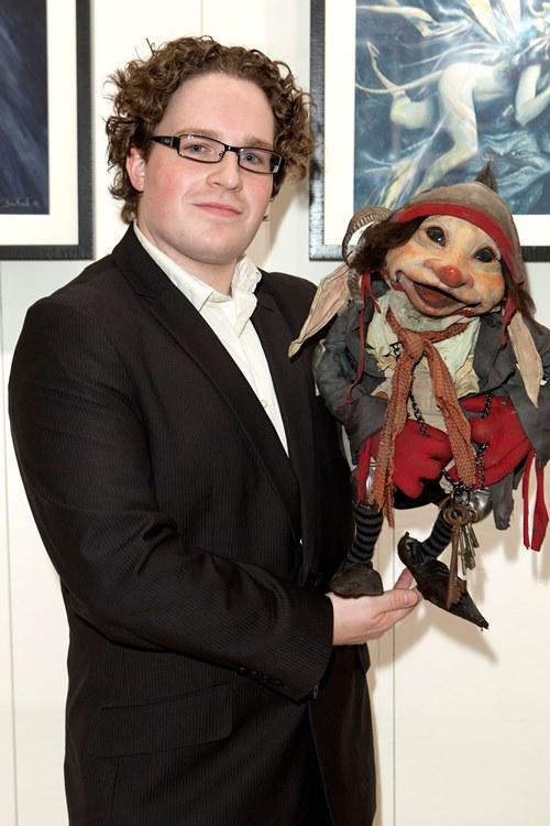 "Toby Froud aus ""Die Reise ins Labyrinth"" ist heute selbst Puppenspieler."