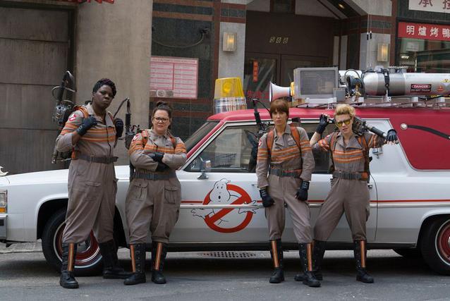 Ghostbusters 2016: Kristen Wiig, Melissa McCarthy