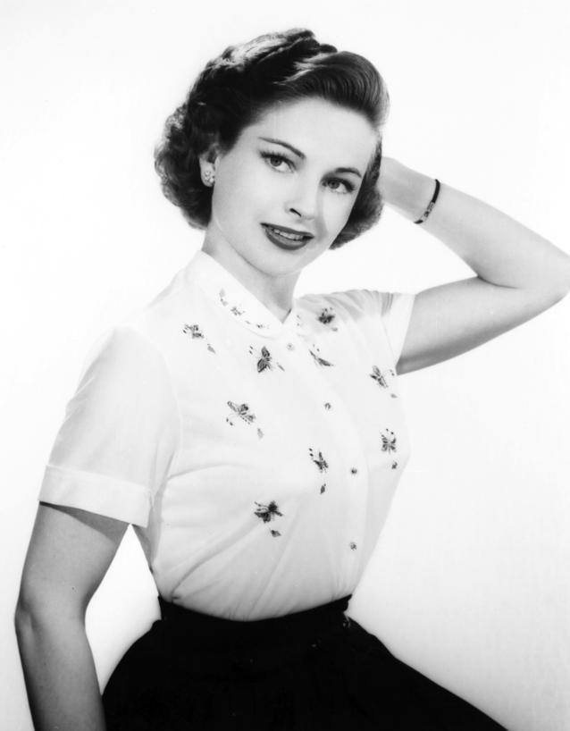 Schauspielerin Coleen Gray in den 1950ern