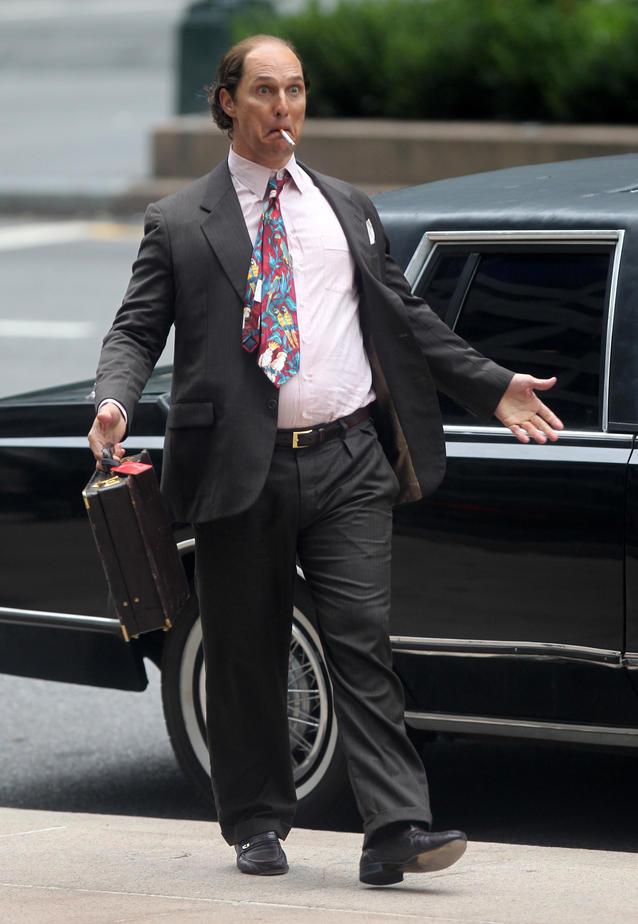 Matthew McConaughey hässlich für neuen Film