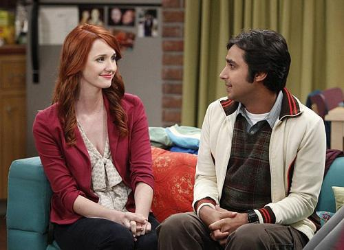 "Laura Spencer spielt in ""The Big Bang Theory"" Rajs Freundin Emily Sweeny"