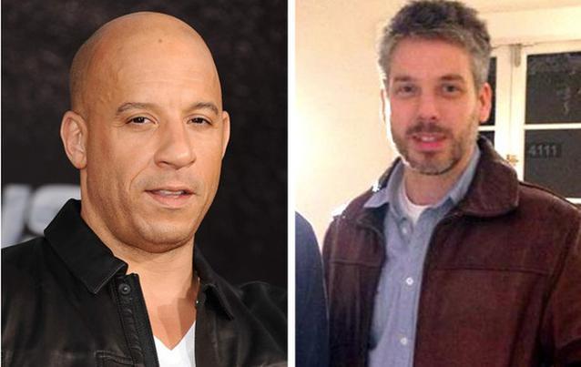 Vin Diesel und Paul Vincent Gebrüder