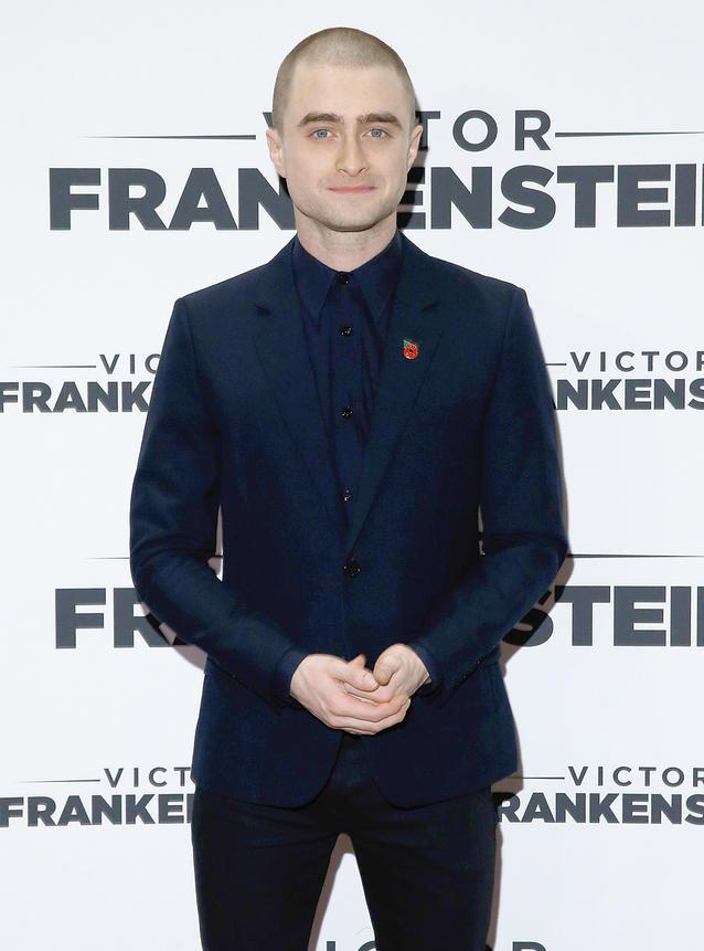 Daniel Radcliffe Glatze