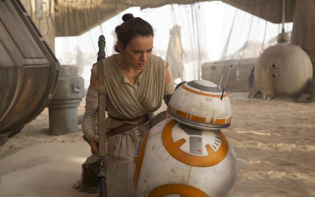 Star Wars Daisy Ridley BB8