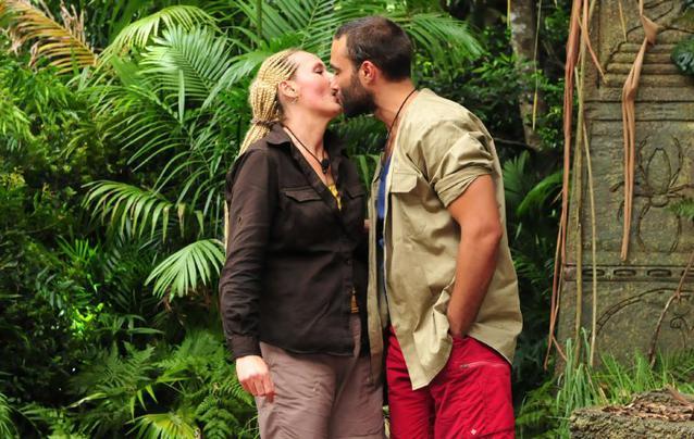 Dschungelcamp 2016 David Ortega und Helena Fürst