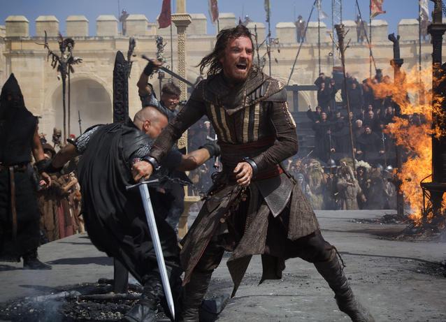 Assassin's Creed Michael Fassbender