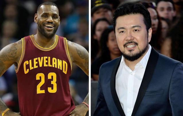 LeBron James und Justin Lin