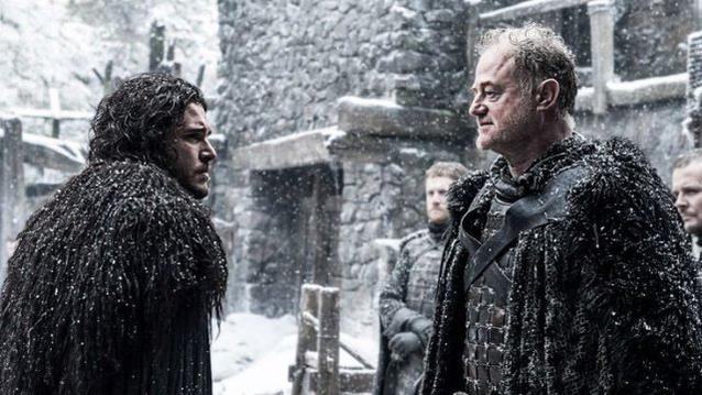 Jon Snow und Ser Alliser Thorne