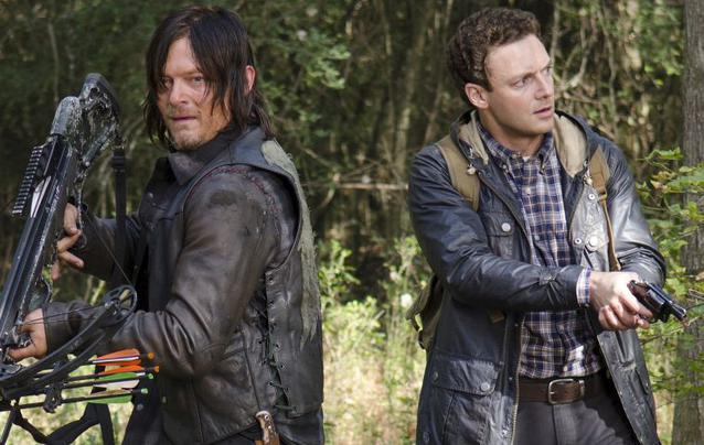 """The Walking Dead"" Staffel 7 Aaron und Daryl"