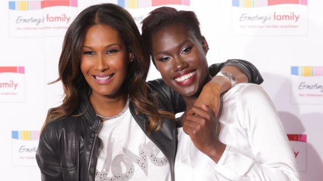 Marie Amiere und Aminata Sanogo