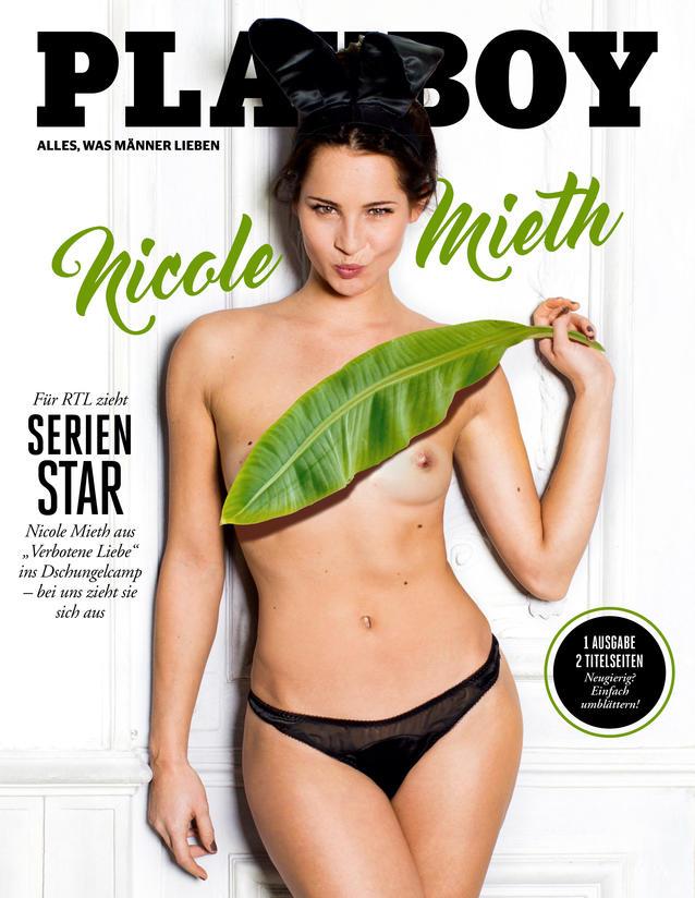 Dschungelcamp-Kandidatin Nicole Mieth zeigt sich nackt im Playboy