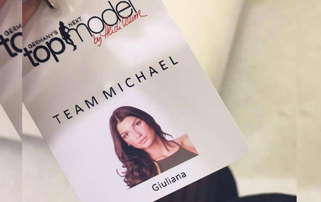 GNTM Giuliana Farfalle ist im Team Michael