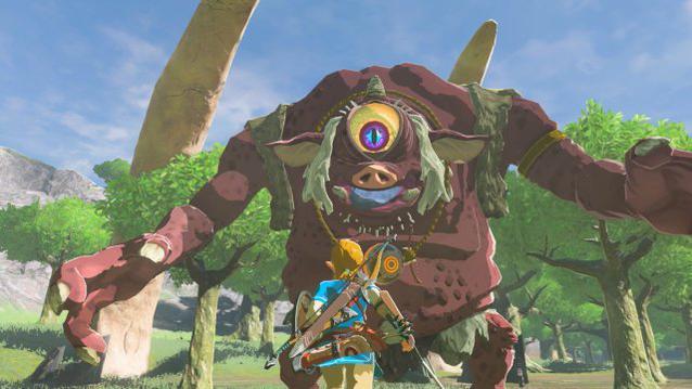 Zelda Breath of Wild Kampf