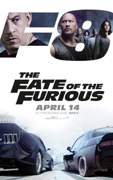 "The Fast and The Furious 8: Das neue Poster mit Vin Diesel und Dwayne ""The Rock"" Johnson"