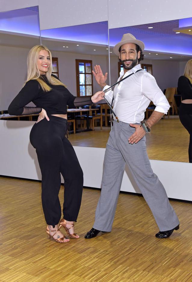 """Let's Dance"": Angelina Kirsch und Massimo Somató"