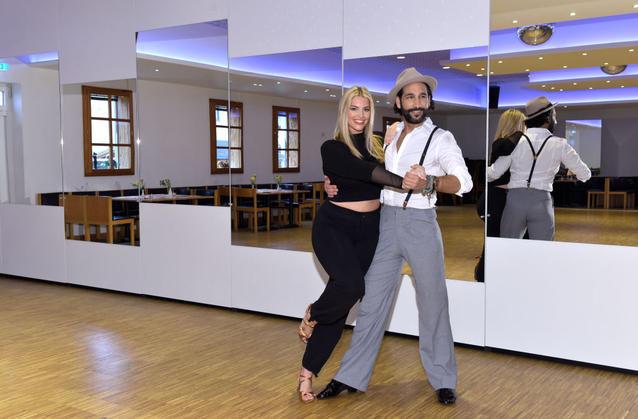 """Angelina Kirsch und Massimo Somató bei """"Let's Dance"""""""