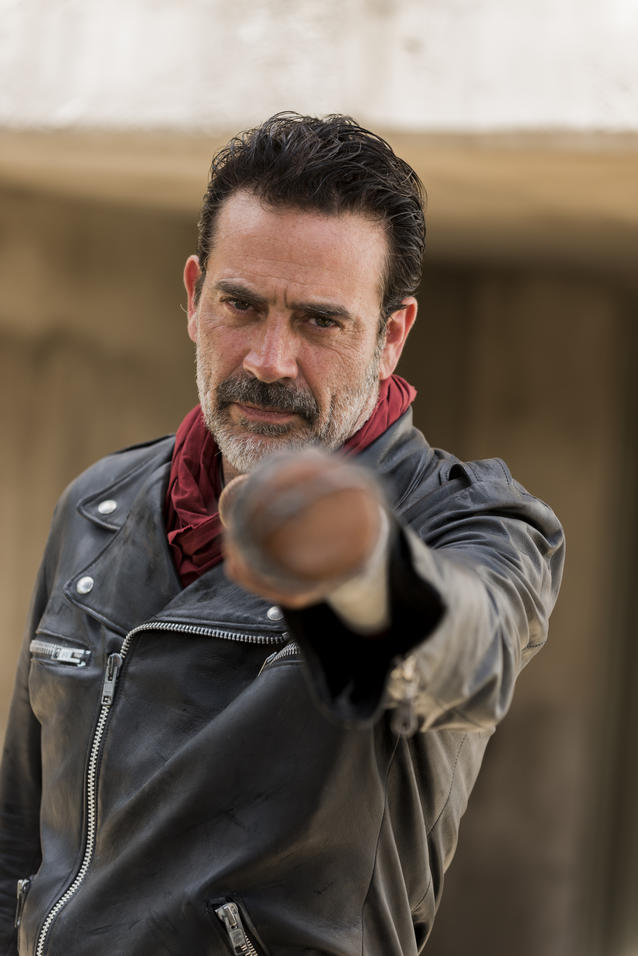 Jeffrey Dean Morgan als Negan - The Walking Dead _ Staffel 7, Episode 7