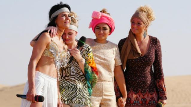 DSDS 2017 Alexandra Lexer, Sophia Verena Trzarnowski, Maria Voskania und Vivien Scarlett Heymann