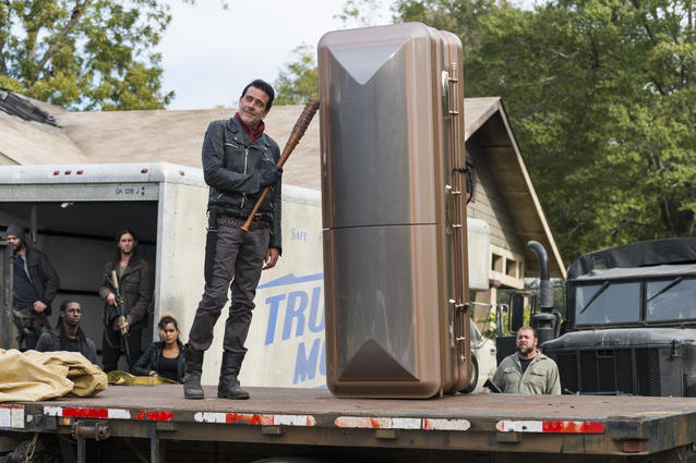 Jeffrey Dean Morgan als Negan - The Walking Dead - Staffel 7, Episode 16