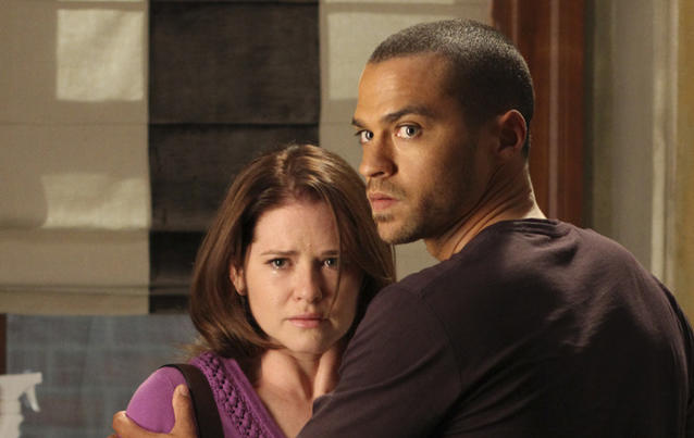 """Grey's Anatomy"": April Kepner und Jackson Avery"