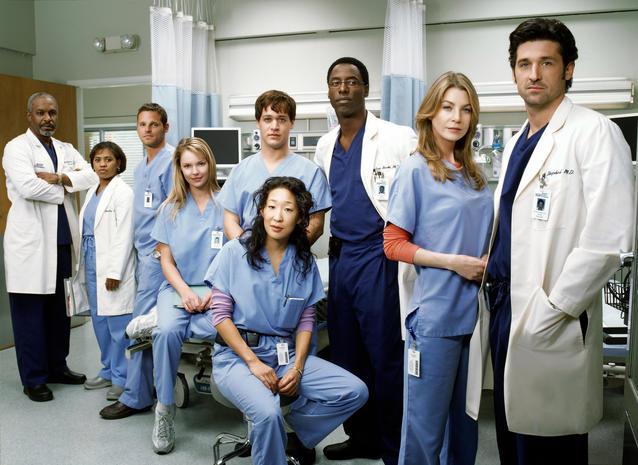 """""""Grey's Anatomy"""" - der alte Cast"""
