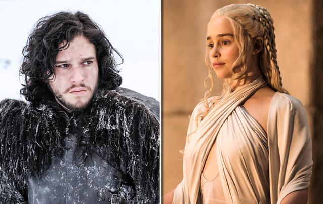 "Jon Snow und Daenerys Targaryen - ""Game of Thrones"""