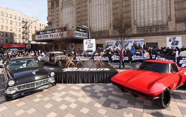 Fast & Furious 8 Autos