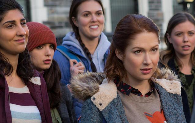 """Unbreakable Kimmy Schmidt"" (Ellie Kemper) geht in Staffel 3 aufs College. Foto: Netflix"