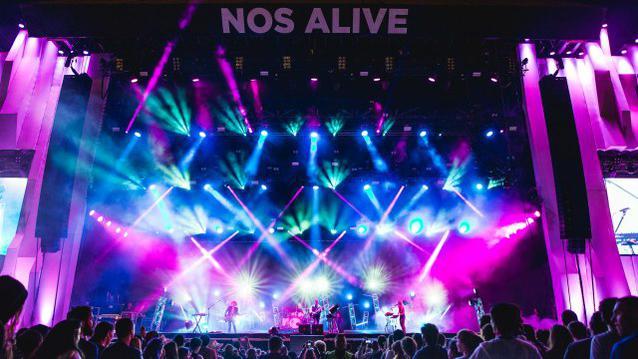 Nos Alive Lissabon