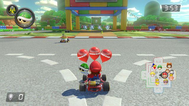 Mario Kart 8 Switch Ballon