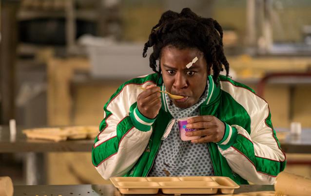 """Uzo Aduba (spielt Crazy Eyes): """"Es geht um Macht - und darum, was passiert, wenn du sie plötzlich bekommst!"""" Foto: Cara Howe/Netflix"""