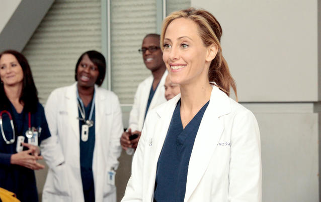 Kim Raver Teddy Altman Grey's Anatomy