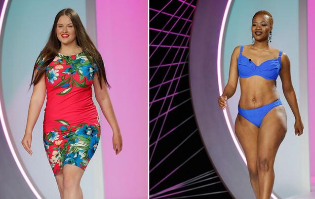 """Jil und Yolanda machen bei """"Curvy Supermodel"""" mit. Foto: RTL II"""