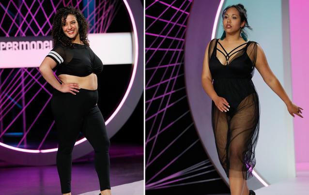 """Veronica (links) und Teresa starten bei """"Curvy Supermodel"""". Foto: RTL II"""