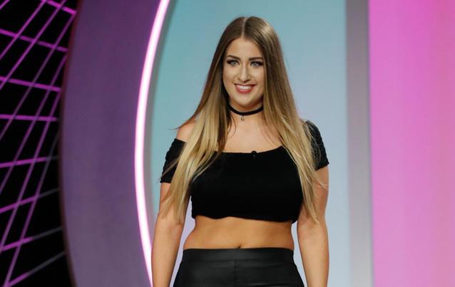 "Ariella ist Kandidatin bei ""Curvy Supermodel"". Foto: RTL II"
