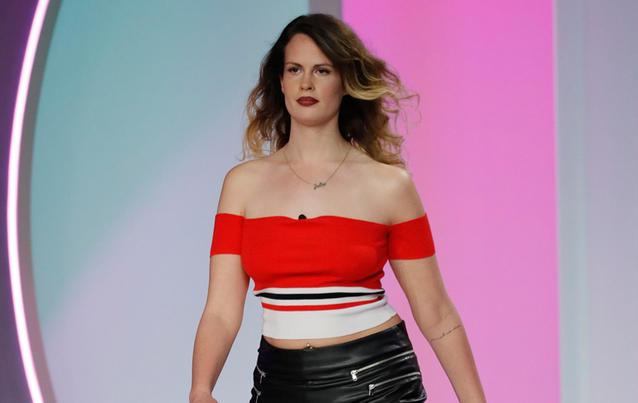 """Julia H macht bei """"Curvy Supermodel"""" mit. Foto: RTL 2"""