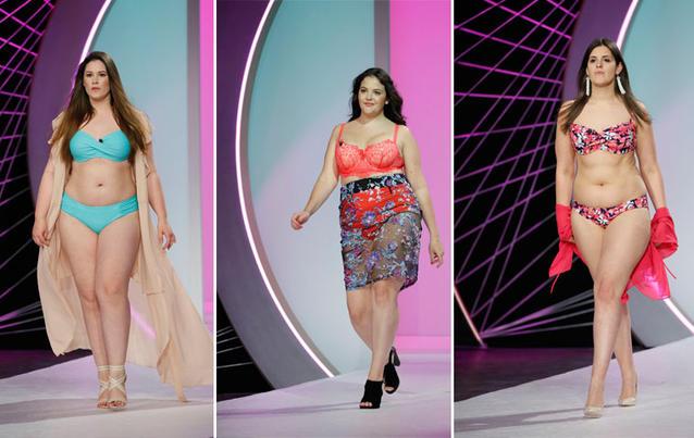 Curvy Supermodel: Eileen, Barbara, Anna-Sophia