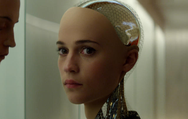 "Alicia Vikander in ""Ex Machina"""