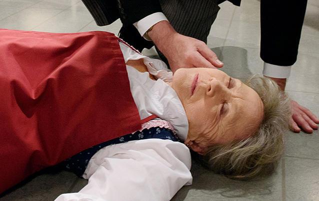 Müssen wir wieder um Hildegard Sonnbichlers Leben bangen? Foto: ARD