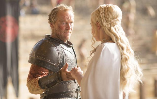 """Game of Thrones"" Jorah Daenerys"