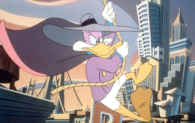 "Darkwing Duck in ""DuckTales"""