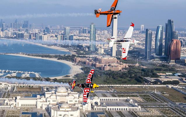 2017 startete die Rennserie in Abu Dhabi. Foto: Predrag Vuckovic / Red Bull