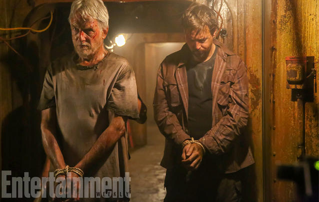 Leroy Gibbs (Mark Harmon) and Timothy McGee (Sean Murray) in der 15. Staffel Navy CIS. Foto: CBS via Entertainment Weekly