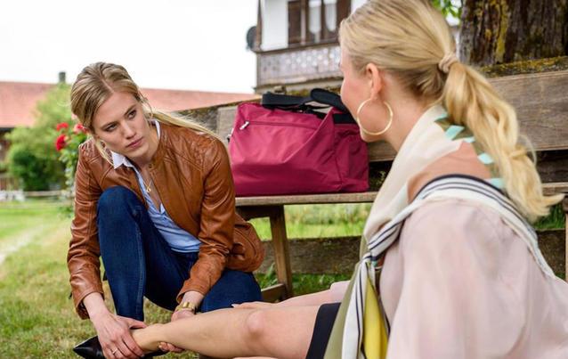 """Larissa Marolt kommt als Dr. Alicia Lindberg zu """"Sturm der Liebe"""". Foto: ARD / Christof Arnold"""