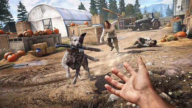 Far Cry 5 Hund