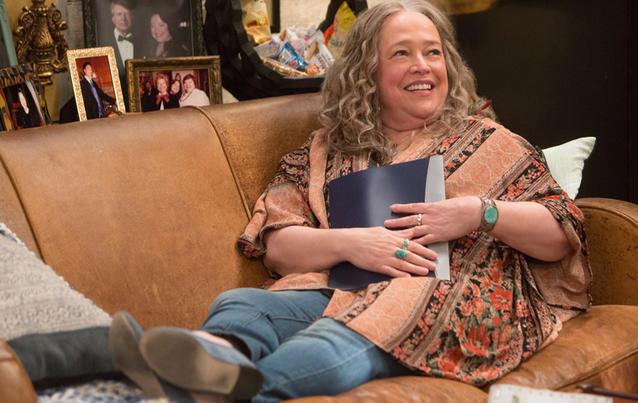 Oscar-Preisträgerin Kathy Bates in Disjointed