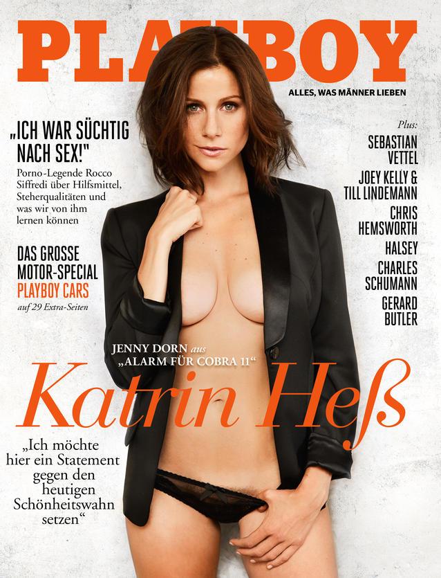 Alarm für Cobra 11: Katrin Heß nackt im Playboy